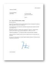 Rapport de stage technicien informatique