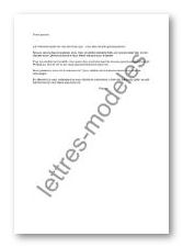 Modèle et exemple de lettres type : Annonce grossesse aux ...