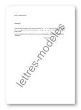 lettre demande de conge annuel