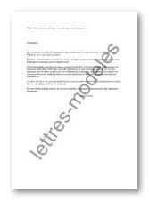 apercu lettre de demande de modification de la reservation d un Quotes