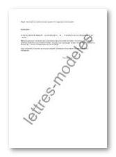 Modèle Et Exemple De Lettres Type Demande De Remboursement