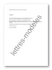 Modele Et Exemple De Lettres Type Demande De Visite Du Lieu De