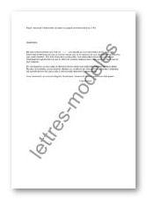 exemple de lettre de garant