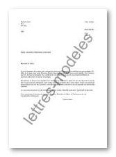 Modele lettre demande information | Degisco