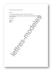 lettre cessation d activite