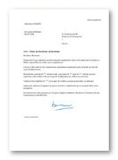 Mod le et exemple de lettre de motivation secr taire de direction - Cabinet recrutement transport ...
