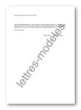 Modèle Et Exemple De Lettres Type Attestation Sur L