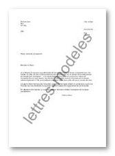 Modèle Et Exemple De Lettres Type Demande De Logement Au